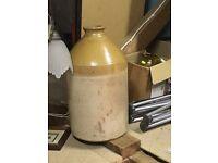 Large earthenware jug