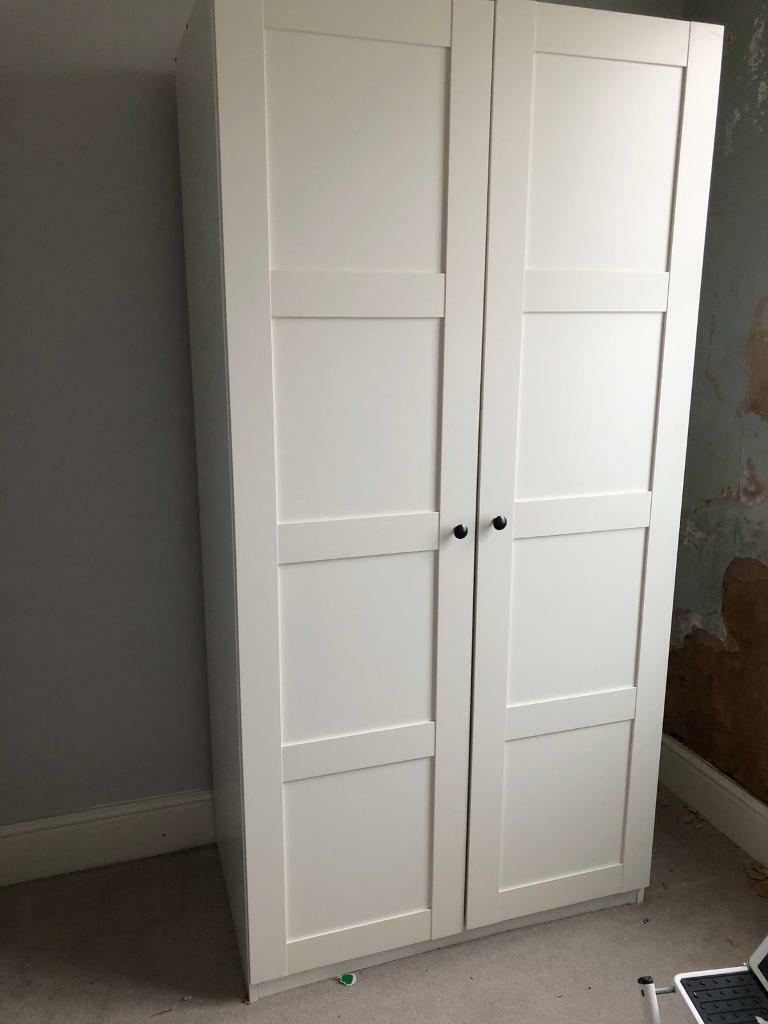 Ikea Wardrobe Pax White Bergsbo White In Hove East Sussex Gumtree