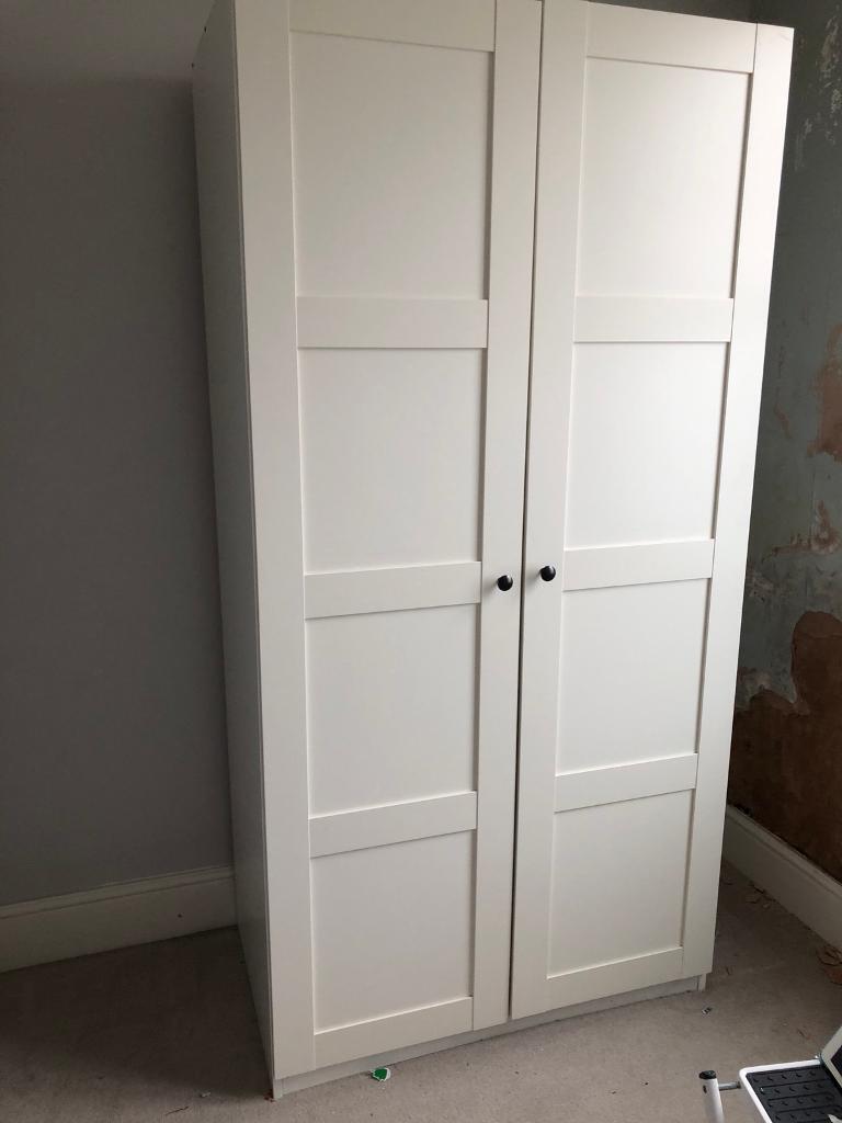 Ikea Wardrobe Pax White Bergsbo White In Hove East