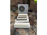 Air con units spares or repairs 1 blade snapped £70