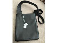 Radley small crossover handbag (black).