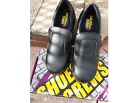 Black Shoes for Crews UK size 10