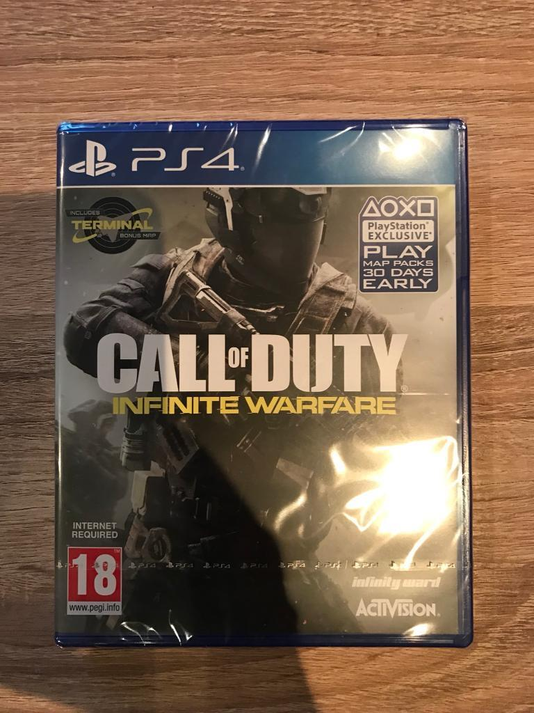 BRAND NEW Call of Duty : Infinite Warfare PS4 Special edition