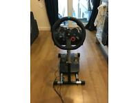 Logitech G29 Steering wheel and stand