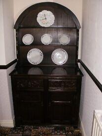 Dark Wood Welsh Dresser