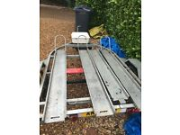 3/2/1 Bike Motorcycle Trailer Heavy Duty Galvanised