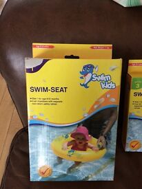 Swim seat and swim ring