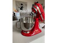 KitchenAid Artisan 4.8L - Red with accessories