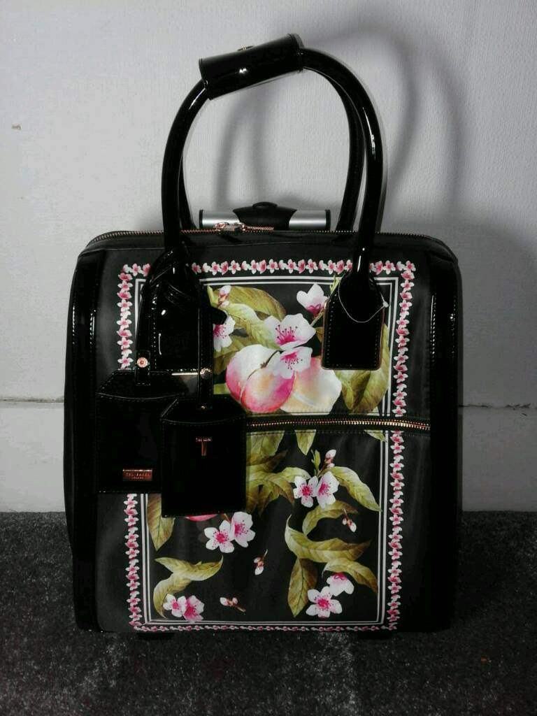 d4f72d5734 NEW Ted Baker Floral Cabin Bag suitcase luggage | in Crystal Palace ...
