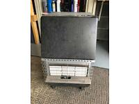 Gas heater with gas