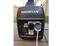 Honda EU20i Inverter Suitcase Generator - Good Condition - Just serviced