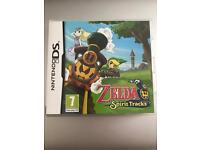 Zelda spirit tracks ds game
