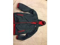 Boys Hooded North Face down jacket size XL