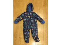 NEW Joules Fleecy Pramsuit - 9-12mnths