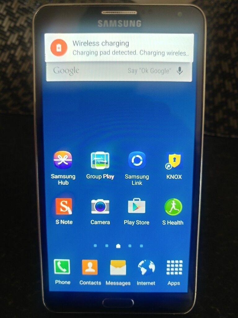 Samsung Galaxy Note 3 in Black, 32GB RAM
