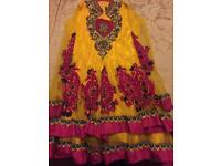 5 years old girls Indian kameez suit £30