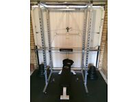 Weights, Cage & Barbell Set