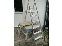 2x Step-Ups (working platforms) and 1x Step Ladder