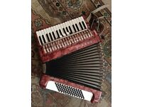 Hohner 72 bass Accordion- Great condition!