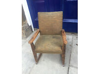Various children's chairs ..... 1st Picture . A rocking chair £85