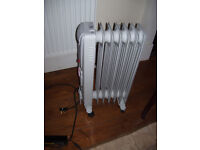 Oil-filled radiator (NDB-1C-15TS) with timer - 7 fin