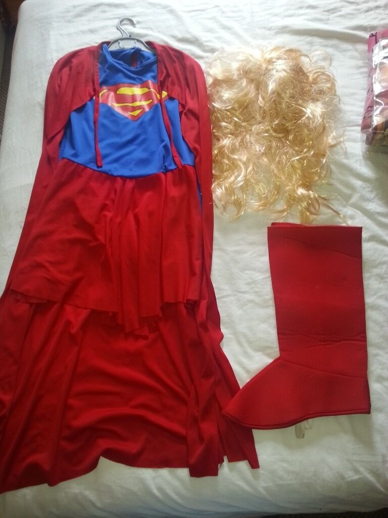 Ladies Fancy Dress Supergirl Costume & accessories | in Bournemouth ...