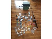 Sea boat fishing rods reel tackle and box job lot all you need for boat fishing good quality