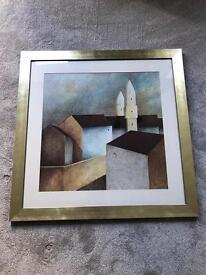 Set of 3 framed pictures