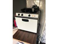 Mini oven and hobs