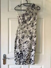 Beautiful Karen Millen snow leopard dress 10