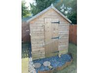 8x6 Garden Shed - only 1 year old