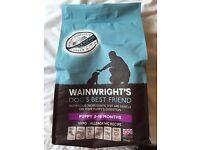 Wainwright puppy food (salmon and potato)