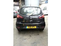 MITSUBISHI COLT 1.1 PETROL 3DR BREAKING 09-10-11-12-13 FOR SPARES 1X WHEEL NUT