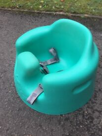Children's Bumbo seat with detachable tray