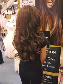 Luxury indian Hair extensions, All weave methods, invisi weft, keratin bonds!!!