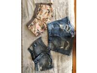 Shorts x3 size 10