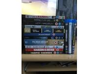 DVDs and Bly rays