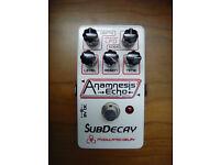 Subdecay Anamnesis delay echo guitar pedal, perfect condition