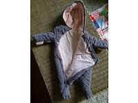 WINTER/SPRING BABY GIRL (& BOY) CLOTHES & SLEEPING BAGS - VERY GOOD QUALITY smoke pet free