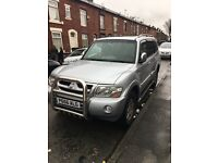 Low miles Mitsubishi Shogun 3.2did Elegance full service lots spent second car not needed now