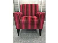 Fabric Armchair Seat Dining Room Living Bedroom Office Furniture