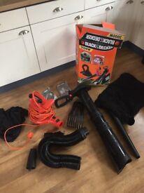 Black and Decker Leaf blower/vac 3000w