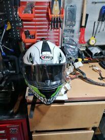 Motorbike helmet large!!