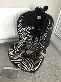 Britax KING plus car seat (Zebra edition)