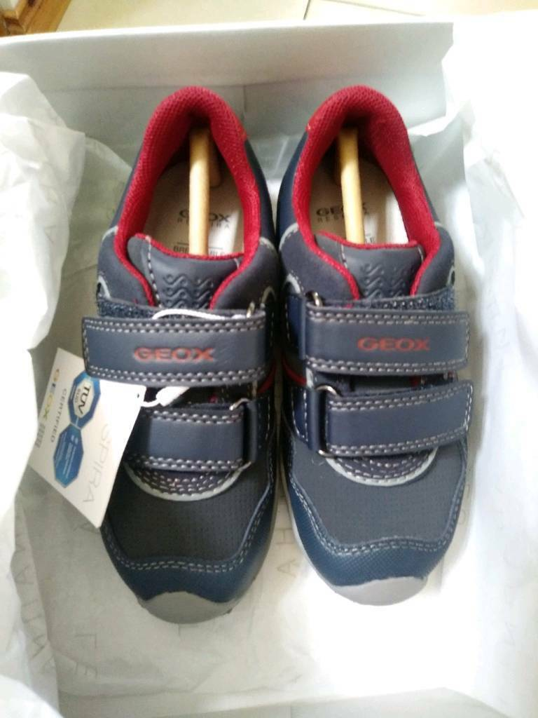 297c67e4975 NEW Boys Geox trainers size 8.5 infant. Crumlin ...