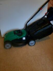 Qualcast lawn mower.