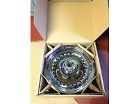 "Harley Davidson 2012 fat boy 17"" mirror chrome wheels"