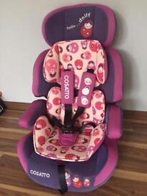 Cosatto Hello Dolly Zoomi group 1/2/3 car seat