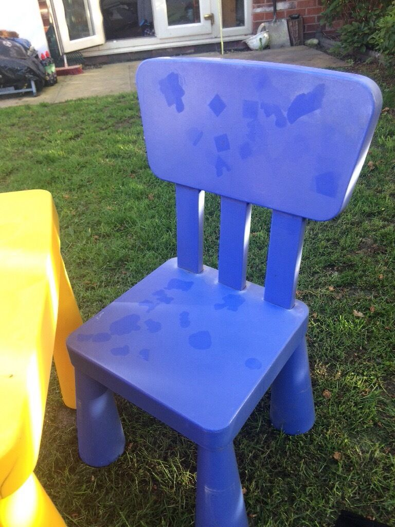 Garden Furniture Very childrens table and chair set outdoor garden furniture very sturdy
