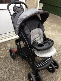 Push chair Comfort tracker buggy